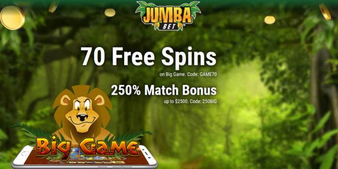 Jumba Bet Free Chip No Deposit